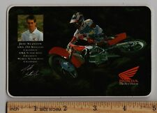 1993 JEFF STANTON HONDA STICKER Decal AMA Motocross Supercross Champion CR250R