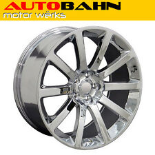 "20x9 Chrome Chrysler 300 SRT Style Wheel 20"" Rim Fits Challenger Magnum INV4278"
