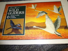 1992 EDDIE BAUER WILD GLIDERS 6 HIGH FLYING PAPER GLIDERS EAGLE OWL GOOSE NEW