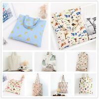 1-layer Cotton Linen Eco Reusable Shopping Tote Carrying Bag Pattern-choose 135