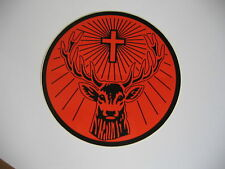 "Jagermeister Sticker 8"" Rudi Sticker Orange/Black Jägermeister"