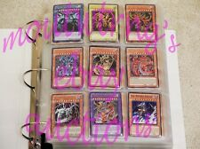 YUGIOH ULTIMATE HOLO COLLECTION! BINDER, COMPLETE SETS, DECKS & MORE! + BONUS!!!