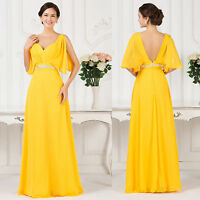 Grace Karin Long Chiffon Wedding Evening Formal Prom Dress Bridesmaid Ball Gowns