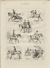 1885 THE SEVEN AGES OF HORSEMANSHIP