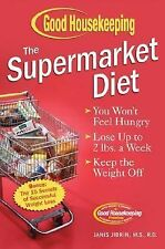 The Supermarket Diet by Janis Jibrin (2005, Hardcover)