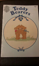Teddy Bearers Counted Cross Stitch Booklet 34 - 1984 Designs by Gloria and Pat
