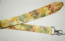 MOBILE PHONE/IDENTITY CARD LANYARD NECK STRAP YELLOW ZELDA
