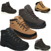 MENS GROUNDWORK SAFETY LACE UP BOOTS TRAINERS STEEL TOE CAP ANKLE WORK SHOES