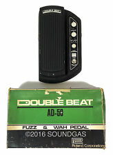 ROLAND DOUBLE BEAT AD-50 WITH BOX Rare 70s Fuzz Wah Guitar Effect Pedal