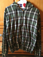 Burkman Bros Green Plaid Jacket ASO Bella Swan Twilight SA color Large or XL