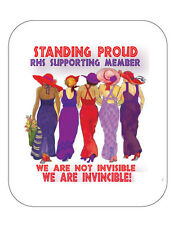 (R) 12 COMPUTER MOUSE PADS STAND PROUD SUPPORTING MEMBER LADIES OF SOCIETY