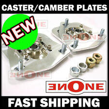 MK1 Caster Camber Kit Plates Strut Mounts 240sx S13 S14 S15 For Coilover Kits