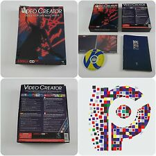 Video CREATOR un almathera titolo per il Commodore Amiga cd32 Testato & Lavoro