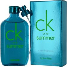 Ck One Summer by Calvin Klein EDT Spray 3.4 oz Limited Edition 2013