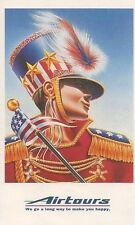 Airtours POSTCARD USA America Limited Edition Stars & Stripes Marching Band