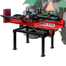 Boss Industrial 3-Point Tractor Mount Horizontal/Vertical Log Splitter (22 To...