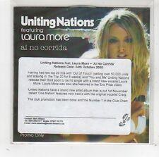 (FV929) Uniting Nations ft Laura More, Ai No Corrida - 2005 DJ CD
