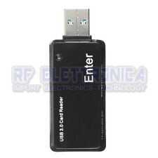 USB 3.0 5Gbps Memory Card Reader Adapter 128GB TF/Micro SD/SDHC/MMC/MS/M2 For Wi