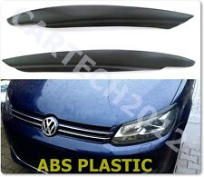 Volkswagen Caddy  (2010+) Headlights, Eyebrows ABS PLASTIC.tuning