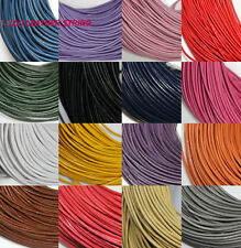 Lots 10M Leather Cord Necklace String Thong Durable Jewelry Making DIY