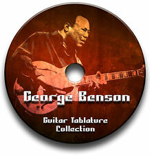 GEORGE BENSON JAZZ GUITAR TABS TABLATURE SONG BOOK SOFTWARE CD