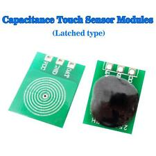 Touch Sensor Module Latch Type Capacitive Touch Buttons Waterproof D Type X10PCS