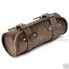MOTORCYCLE BROWN LEATHER TOOL ROLL BAG YAMAHA XVS 950 1300 1900 MIDNIGHT STAR