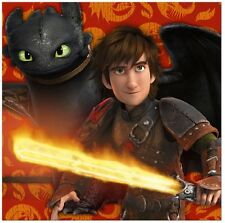 How to Train Your Dragon ~ (16) Lunch Napkins ~ Birthday Party Supplies
