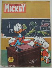 ¤ LE JOURNAL DE MICKEY n°124 ¤ 10/10/1954