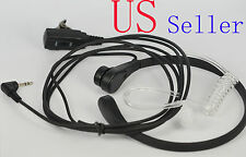 Throat Mic Earpiece/Headset for Motorola Talkabout Radio MS355R MD200TPR 1 Pin