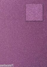 5 sheets A4 200g Top Quality Non Shed Glitter Card Single Sided