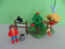 PLAYMOBIL – Enfant avec élevage d'oiseaux / Children with birds / 4203