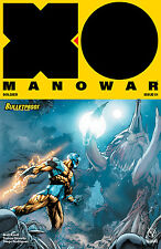 X-O Man O War #1 Bulletproof store exclusive by Diego Benard  RARE!NM *Pre-Sell*