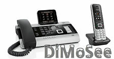 """►► Gigaset DX800A VoIP - ISDN - Analog """"All in one"""" + 1 Mobilteil S850HX ◄◄"""