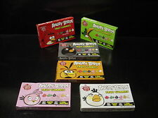 SET 6 RARE Second Edition ANGRY BIRDS gummies gummy fruit snacks candy box