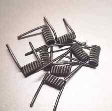 (8) Fused Clapton Coil SS 316L 24G(x2)/32G(Alien Rda Rba Vape Mod Coils) 8wraps