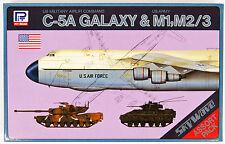 Pit-Road Skywave S-01 C-5A Galaxy & M1 M2/3 1/700 scale kit 4986470018041