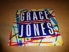 "GRACE JONES - PULL UP THE BUMPER !!!!!!!!!!!! 45 TOURS / 7"""