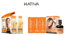 Kativa Keratin & Argan Oil Brazilian Hair Straightening + Pack Post Treatment