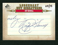 RIP SEWELL 2011 SP LEGENDARY CUTS 5/15 CUT AUTO AUTOGRAPH PITTSBURGH PIRATES