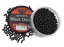 STEEL PELLETS BB's BBS BLACK DEVILS 4.5 mm .177 1500 pcs. Air rifle Airgun