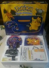Console POKEMON PIKACHU EDITION  NINTENDO 64 N64 NUOVA NEW PAL VERSION VERY RARE
