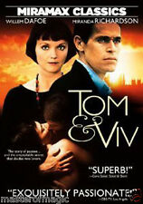 Tom & Viv DVD (US R1) Willem Dafoe, Miranda Richardson