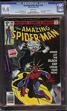 Amazing Spider-Man # 194 CGC 9.4 White pages 1st appearance of Black Cat