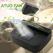 Solar Powered Car SUV Auto Air Vent Cool Fan Cooler Ventilation Radiator System