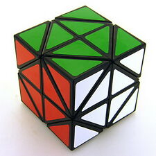 Rare Black Helicopter Magic Cube Speed Puzzle Toy SKEWB Twist Spring By Lanlan