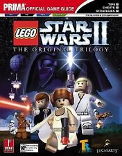 """""""LEGO STAR WARS II: THE ORGINAL TRILOGY"""" 2006 1ST PB PRIMA OFFICIAL GAME GUIDE"""