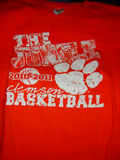 2010-2011 Clemson Basketball  The Jungle Size XL T Shirt Gildan