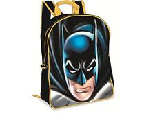 DC COMICS Batman 3D Junior Backpack Rucksack School Nursey Holiday Bag New