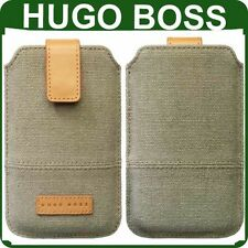 New Genuine HUGO BOSS CASE Apple iPhone 4 4s original wallet cover pouch housing